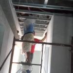 Clinic wing ceiling